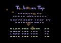 To be on Top - C64 - Main Menu.png