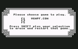 Labyrinth - C64 - Game Select.png