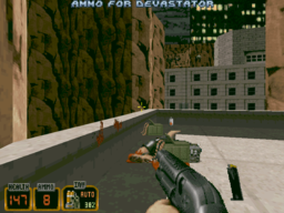 Duke Nukem 3D - DOS - Level 1.png