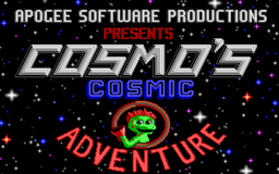 Cosmo's Cosmic Adventure - DOS - Title.png