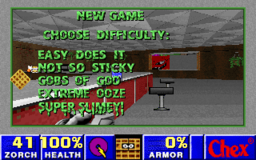 Chex Quest 2 - DOS - Difficulty.png