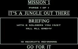 Cannon Fodder - DOS - Briefing.png