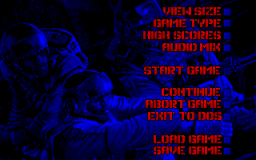 Operation Body Count - DOS - Main Menu.png