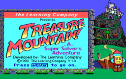 Treasure Mountain - DOS - Title.png