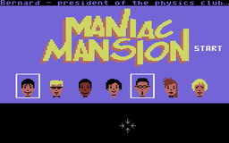 Maniac Mansion - C64 - Character Select.png