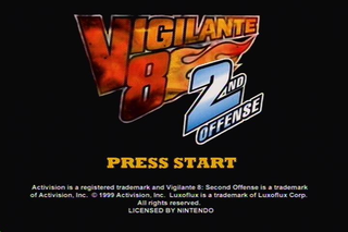 Vigilante 8 Second Offense - N64 - Title Screen.PNG