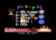 Pick'n Pile - C64 - Main Menu.png