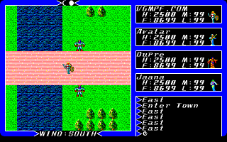 Ultima 3 - PC98 - Town.png